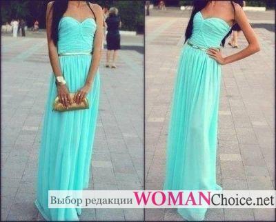 Прямое греческое платье с поясом