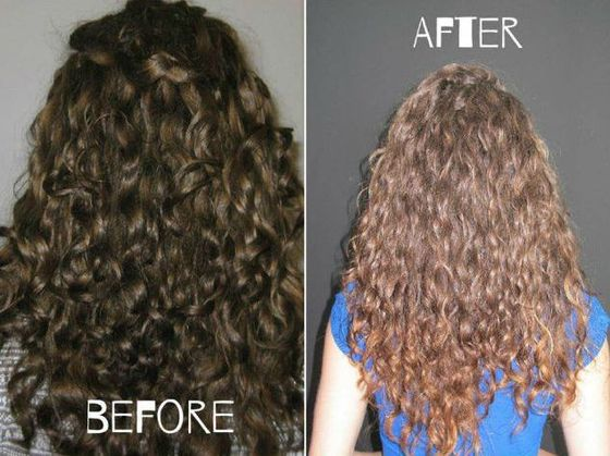 До и после смывки коричневой краски