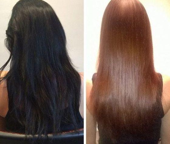 Смывка для волос — простые правила снятия краски с локонов в домашних условияхКапелита