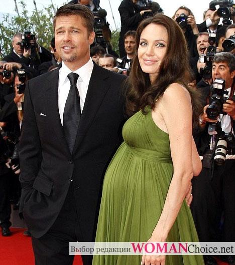 Беременная Анжелина Джоли