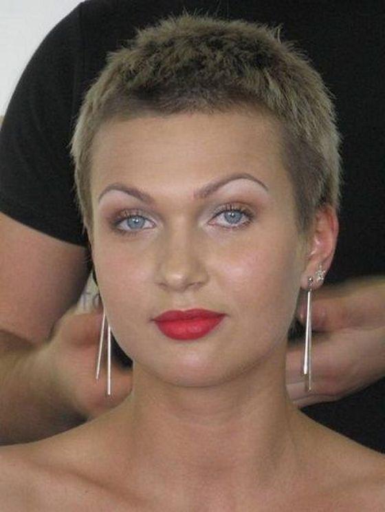 korotkie-strizhki-dla-kruglogo-lica-001 Короткие стрижки для круглого лица - 100 фото причесок для женщин