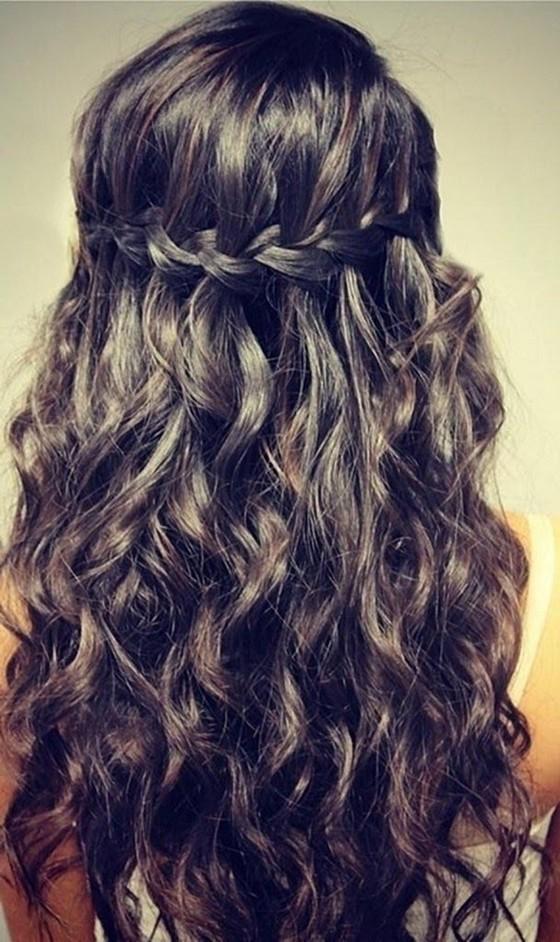 Плетения с косами на средние волосы