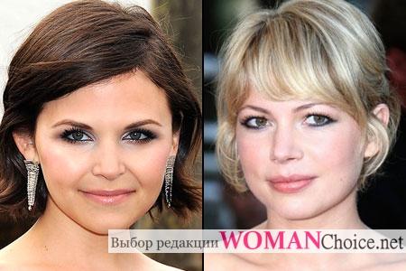 Актрисы с круглым лицом