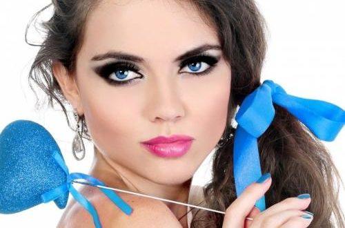 Модный макияж для новогодней вечеринки
