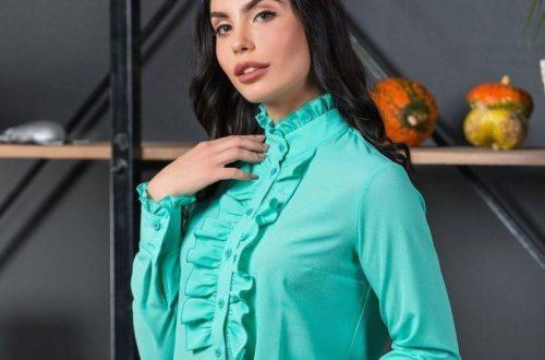 Модные блузки для женщин