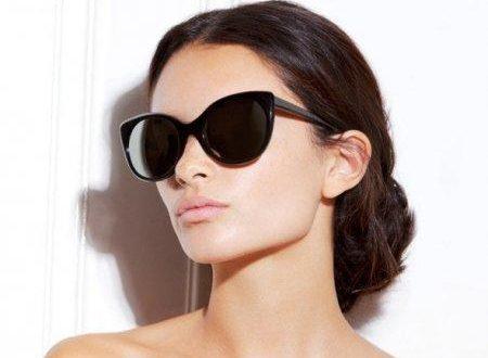 Элегантные очки подходящие к форме женского лица