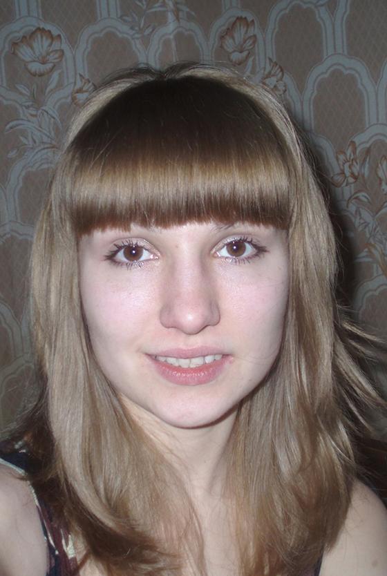 Очень светло русый пепельный цвет волос
