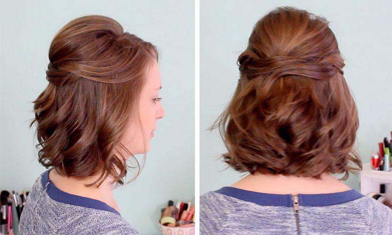 prostye-pricheski-na-korotkie-volosy-002 Идеи причесок на короткие волосы (фото)