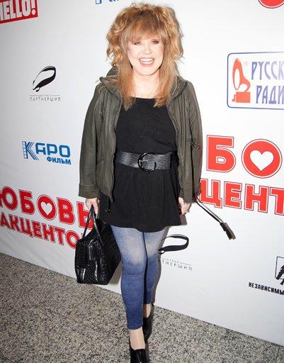 Пугачева в обтягивающих джинсах