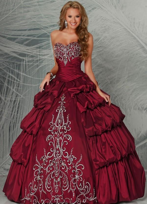 Пышные платья длинные и короткие