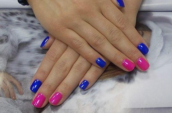 Розовый маникюр (23 фото) на коротких и длинных ногтях ...