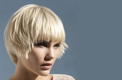 Стрижка шапочка для коротких волос