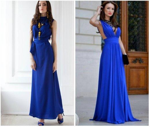 816323e62179d42 Синее платье 2019 - 101 фото платьев синего цвета | Портал для ...