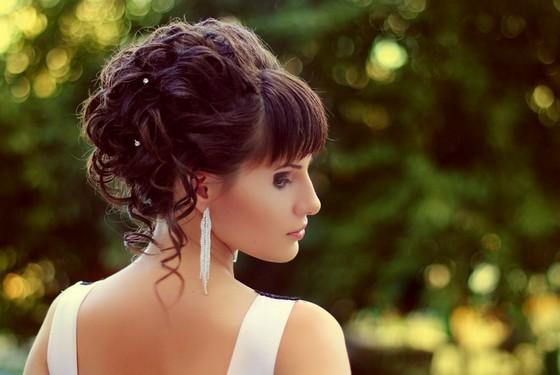 Челка у невесты