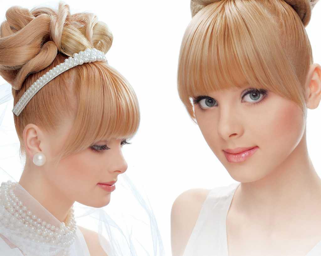 терпким прически для средних волос фото с челкой емецке