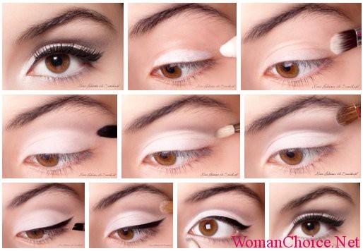 Дневной макияж со стрелками