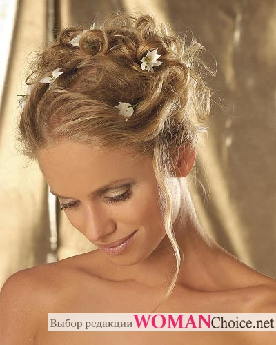 Свадебные прически на тонкие волосы - Все для организации свадьбы ... | 500x400