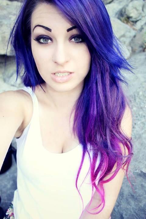 violet-hair3 Фиолетовые волосы - 68 фото и идей модного окрашивания